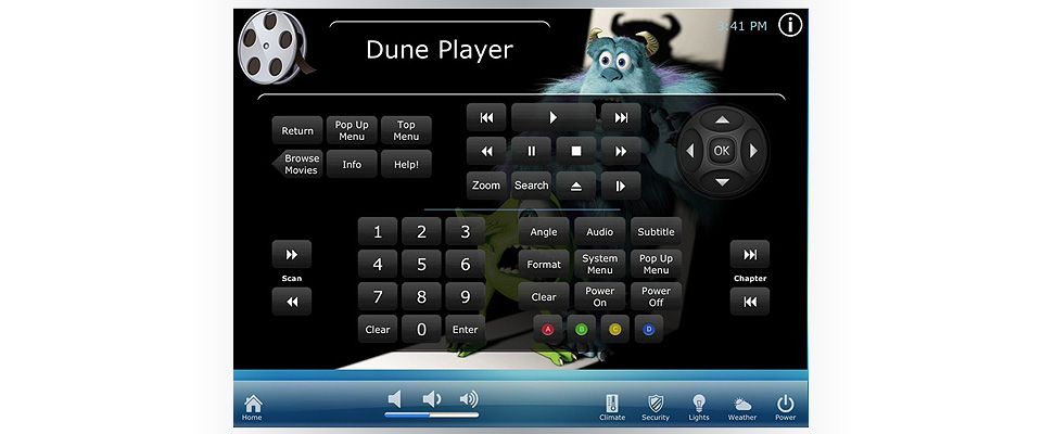 FilmoScope video server Dune driver for RTI